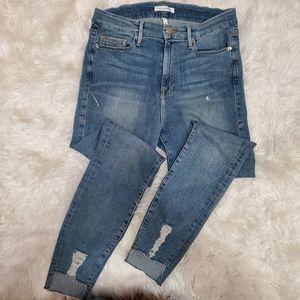 GOOD AMERICAN GOOD LEGS BLUE082 JEANS